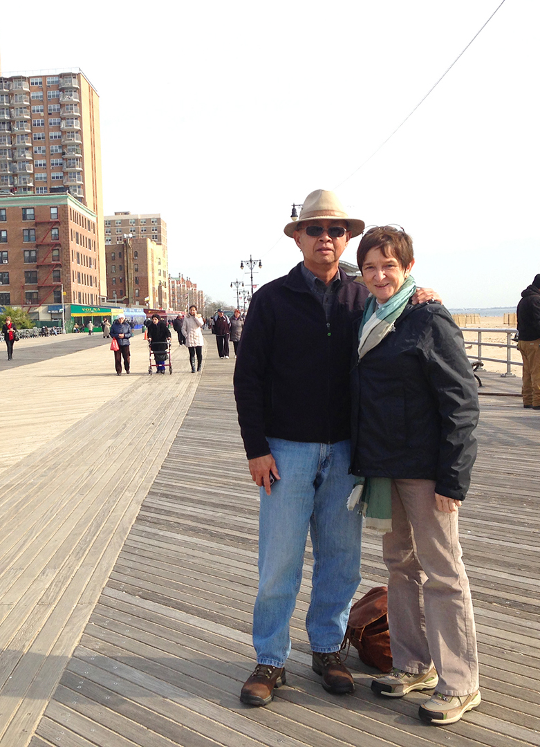 Brighton Beach with my parents, Kensington, Sheepshead Bay, East New York